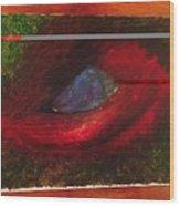 Dragon Eye Wood Print