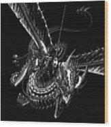 Dragon Knight Wood Print