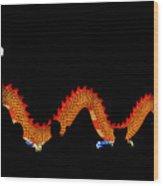 Dragon Lantern  Wood Print
