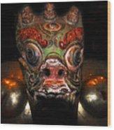 Dragon Of Nepal Wood Print