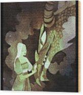 Dragon Princess Wood Print