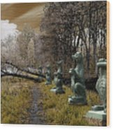 Dragon Road 054 Wood Print