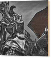 Dragon Slayer Wood Print