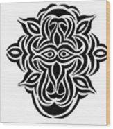 Dragon Warrior Wood Print