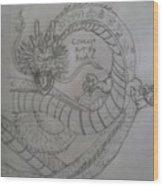 Dragonball Z Wood Print