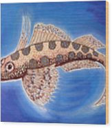 Dragonet Fish Wood Print