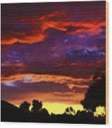 Dragonfire - Mark Blauhoefer Wood Print