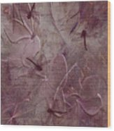 Dragonflies Wood Print by Jean Gugliuzza
