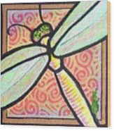 Dragonfly Fantasy 3 Wood Print