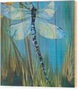 Dragonfly Fantasy Wood Print