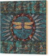 Dragonfly Lair Wood Print