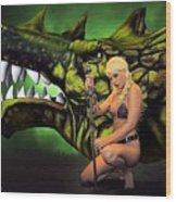 Dragon's Bane Color Wood Print
