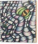 Dragon's Eye Wood Print