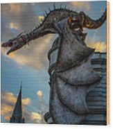 Dragons Glory  Wood Print