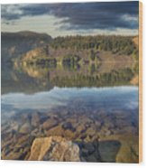 Drano Lake In Washington State Wood Print
