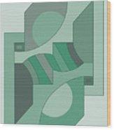 Drawb2abstract449 Wood Print