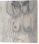 Drawing Dos Wood Print