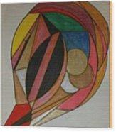 Dream 10 Wood Print