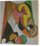 Dream 7 Wood Print