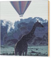 Dream Adventure In Kenya Wood Print