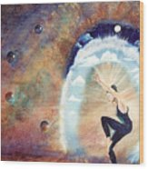 Dream Dancer Wood Print