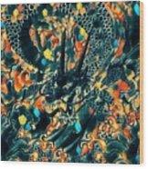 Dream Dragon Wood Print