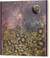 Dream Garden Wood Print