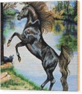 Dream Horse Series 3015 Wood Print