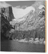 Dream Lake, Rocky Mountain National Park  Wood Print