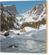 Dream Lake Rocky Mountain Park Colorado Wood Print