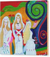 Dream Of A Jungian Marriage Wood Print