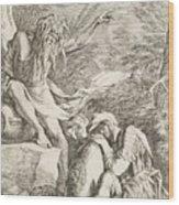 Dream Of Aeneas Wood Print