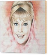 Dream Of Jeannie Wood Print