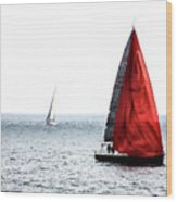Dream Of Red Wood Print
