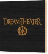 Dream Theater Logo Wood Print