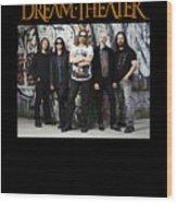Dream Theater Wood Print