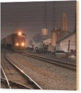 Dream Train.. Wood Print