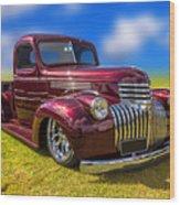 Dream Truck Wood Print