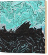 Dream Waves Wood Print