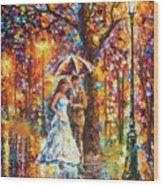 Dream Wedding Wood Print