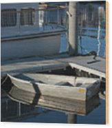 My Dream Yacht Wood Print