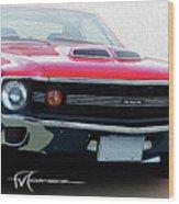 Amx Frontal Wood Print