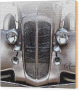 Bugle Boy Buick Wood Print