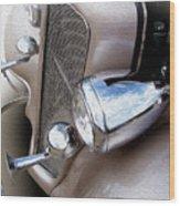 Bugle Blowin' Buick Wood Print