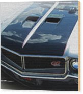 Buick With Attitude Wood Print