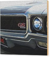 Buick With Gas Wood Print