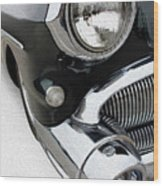Jet Engine Buick Wood Print