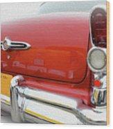Buick Reflecting Wood Print