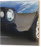 Phantom Camaro Wood Print