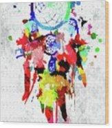 Dreamcatcher Grunge Wood Print